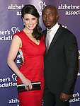"Idina Menzel and actor Taye Diggs at The 19th Annual ""A Night at Sardi's"" benefitting the Alzheimer's Association held at The Beverly Hilton Hotel in Beverly Hills, California on March 16,2011                                                                               © 2010 Hollywood Press Agency"