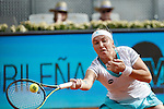 Svetlana Kuznetsova from Russia during her Madrid Open tennis final match against Petra Kvitova from Czech Republic in Madrid, Spain. May 09, 2015. (ALTERPHOTOS/Victor Blanco)