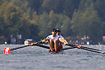 Rowing, Canada Lightweight Men's Double Sculls, from stern: Cam Sylvester (Caledon, ON) Western RC, Doug Vandor (Dewittville, ON) McGill University RC,  Aug 31, Quarterfinal - advanced to Semi, 2011 FISA World Rowing Championships, Lake Bled, Bled, Slovenia, Europe, Rowing Canada Aviron,