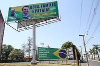 24/09/2020 - OUTDOORS EM APOIO E CONTRA BOLSONARO