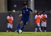 Miami, FL - Tuesday, October 15, 2019:  Omir Fernandez #21 during a friendly match between the USMNT U-23 and El Salvador at FIU Soccer Stadium.