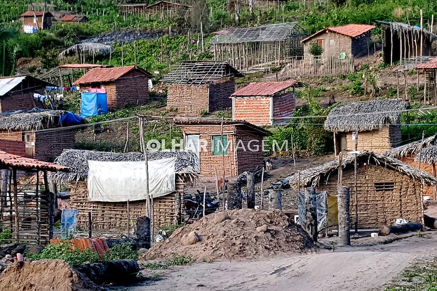 Favela na periferia de Teresina. Piaui. 2015. Foto de Candido Neto.