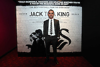 """Pictured: Footballer Leon Britton. Friday 12 September 2014<br /> Re: Premiere of """"Jack To A King"""" a film about the history of Swansea City Football Club, at The Empire Cinema in Leicester Square, London, UK."""