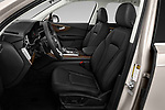 Front seat view of 2020 Audi Q7 Premium 5 Door SUV Front Seat  car photos