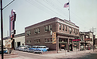 Degnan Chevrolet New & Used Car Dealership Building from 1959. PA.