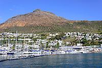 Hafen von Simons Town, Harbor of Simons Town, False Bay, Simons Town, Suedafrika, Indischer Ocean, False bay, Simons Town, South Africa, Indian Ocean