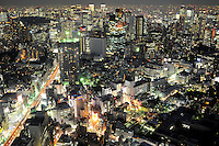 Tokyo, the biggest and most populated city in the world. Tokyo is the most populated metropolitan area with 35 million people.<br /> <br /> Richard Jones  /  Sinopix