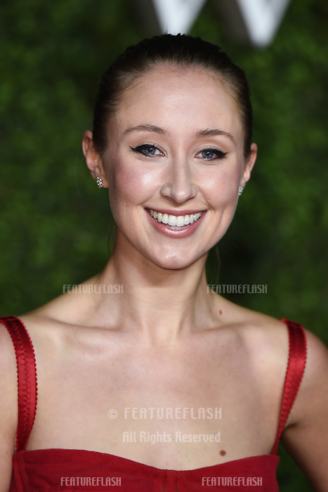 """LONDON, UK. November 13, 2019: Erin Doherty arriving for """"The Crown"""" series 3 premiere at the Curzon Mayfair, London.<br /> Picture: Steve Vas/Featureflash"""