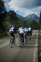 Team SKY training camp.Mallorca, january 2012