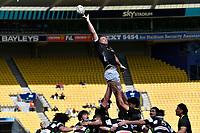 Caleb Delany of Wellington during the Bunnings NPC - Wellington v Hawke's Bay at Sky Stadium, Wellington, New Zealand on Sunday 26 September 2021.<br /> Photo by Masanori Udagawa. <br /> www.photowellington.photoshelter.com