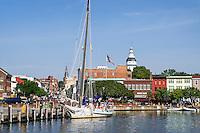 Downtown Annapolis, Maryland, USA