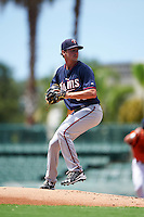 GCL Twins starting pitcher Tyler Fox (68) during a game against the GCL Orioles on August 11, 2016 at the Ed Smith Stadium in Sarasota, Florida.  GCL Twins defeated GCL Orioles 4-3.  (Mike Janes/Four Seam Images)