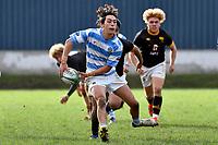 College Rugby - Wellington College v St Patrick's College, Silverstream at Wellington College, Wellington, New Zealand on Wednesday 16 May 2021.<br /> Photo by Masanori Udagawa. <br /> www.photowellington.photoshelter.com