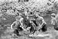 Undated file photo from the 1970's -  Montreal. Quebec , Canada  - boy scouts<br />  NO MODEL RELEASE