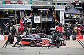 NASCAR Xfinity Series<br /> ToyotaCare 250<br /> Richmond International Raceway, Richmond, VA USA<br /> Saturday 29 April 2017<br /> Kyle Benjamin, ToyotaCare Toyota Camry pit stop<br /> World Copyright: Matthew T. Thacker<br /> LAT Images<br /> ref: Digital Image 17RIC1mt1395