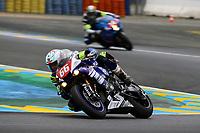 #66 OG MOTORSPORT BY SARAZIN (FRA) YAMAHA YZF - R1 SUPERSTOCK DIGUET JULIEN (FRA) LEESCH CHRIS (LUX) HEDELIN CAMILLE (FRA)
