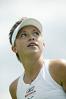 28-6-07,England, Wimbldon, Tennis,  Michaella Krajicek plaatst zich voor de derde ronde