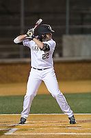 Will Craig (22) of the Wake Forest Demon Deacons at bat against the Georgetown Hoyas at David F. Couch Ballpark on February 19, 2016 in Winston-Salem, North Carolina.  The Demon Deacons defeated the Hoyas 3-1.  (Brian Westerholt/Four Seam Images)