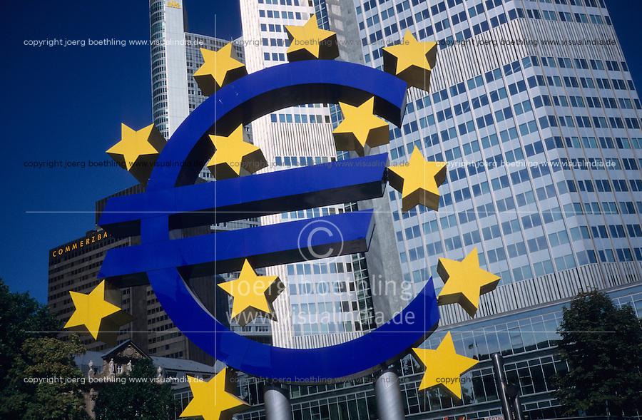 GERMANY, Frankfurt, European Central Bank EZB / EZB Europaeische Zentralbank