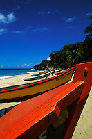 Puerto Rico, Aguadilla, Fishing boats, Crashboat Beach