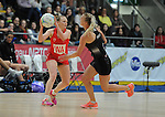 Wales Amanda Varey  <br /> <br /> Swansea University International Netball Test Series: Wales v New Zealand<br /> Ice Arena Wales<br /> 08.02.17<br /> ©Ian Cook - Sportingwales