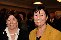 Louise Arbour (L), Francine Lalonde (R) at the CORIM in Montreal, February 9, 2007.<br /> <br /> Louise Arbour was appointed High Commissioner for Human Rights by the Secretary-General and approved by the General Assembly, effective 1 July 2004.<br /> <br /> Ms. Arbour, a Canadian national, began a distinguished academic career in 1970, culminating in the positions of Associate Professor and Associate Dean at the Osgood Hall Law School of York University in Toronto, Canada, in 1987. In December of 1987, she was appointed to the Supreme Court of Ontario (High Court of Justice) and in 1990 she was appointed to the Court of Appeal for Ontario. In 1995, Ms. Arbour was appointed by Order-in-Council as single Commissioner to conduct an inquiry into certain events at the Prisons for Women in Kingston, Ontario.<br /> <br /> In 1996, she was appointed by the Security Council of the United Nations as Chief Prosecutor for the International Criminal Tribunals for the former Yugoslavia and for Rwanda. After three years as Prosecutor, she resigned to take up an appointment to the Supreme Court of Canada.<br /> <br /> Ms. Arbour graduated from College Regina Assumpta, Montreal in 1967 and completed an LL.L (with distinction) from the Faculty of Law, University of Montreal in 1970. Following the Quebec Bar Admission Course, she was called to the Quebec Bar in 1971 and the Ontario Bar in 1977. Ms. Arbour has received honorary doctorates from twenty-seven Universities and numerous medals and awards. She is a member of many distinguished professional societies and organizations and has served on the boards of many others. She has published extensively on criminal law and given innumerable addresses on both national and international criminal law.<br /> <br /> Ms. Arbour was born on 10 February 1947 in Montreal, Quebec and has three children. She is fluent in French and English<br /> <br /> Photo : (c) 2007 by Michel Karpoff - Images Distribution
