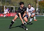 Tim Neild. Men's North v South hockey match, St Pauls Collegiate, Hamilton, New Zealand. Saturday 17 April 2021 Photo: Simon Watts/www.bwmedia.co.nz