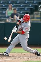Hank Conger - Mesa Solar Sox, 2009 Arizona Fall League.Photo by:  Bill Mitchell/Four Seam Images..
