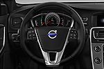 Car pictures of steering wheel view of a 2018 Volvo S60 T5 4 Door Sedan Steering Wheel
