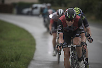 eventual stage winner Edvald Boasson Hagen (NOR/Dimension Data) in the race lead<br /> <br /> 12th Eneco Tour 2016 (UCI World Tour)<br /> Stage 7: Bornem › Geraardsbergen (198km)