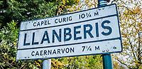 Pictured: Llanberis. Saturday 02 November 2019<br /> Re: North Wales, UK.