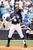 April 3, 2010:  Third baseman Alex Rodriguez (13) of the New York Yankees playing in the annual Futures Game during Spring Training at Legends Field in Tampa, Florida.  Photo By Mike Janes/Four Seam Images