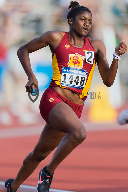 Kendall Ellis of USC competes in 400 meter prelims during West Preliminary Track and Field Championships, Friday, May 29, 2015 in Austin, Tex. (Mo Khursheed/TFV Media via AP Images)