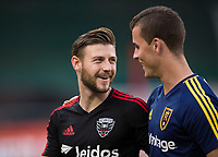 Washington, DC - August 13, 2017: D.C. United lost to Real Salt Lake 1-0 during a Major League Soccer (MLS) match at RFK Stadium.