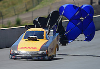 Jul, 22, 2012; Morrison, CO, USA: NHRA funny car driver Jeff Arend during the Mile High Nationals at Bandimere Speedway. Mandatory Credit: Mark J. Rebilas-