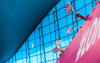 Supporters<br /> London, Queen Elizabeth II Olympic Park Pool <br /> LEN 2016 European Aquatics Elite Championships <br /> Diving<br /> Men's 3m springboard preliminary <br /> Day 04 12-05-2016<br /> Photo Giorgio Perottino/Deepbluemedia/Insidefoto