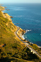 Pacific Coast Highway, also known as the Cabrillo Highway or Highway 1 along the Big Sur Coast, California