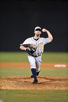 ***Temporary Unedited Reference File***Montgomery Biscuits relief pitcher Adam Kolarek (32) during a game against the Chattanooga Lookouts on May 2, 2016 at AT&T Field in Chattanooga, Tennessee.  Chattanooga defeated Montgomery 9-6.  (Mike Janes/Four Seam Images)
