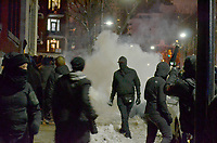 manifestation contre la brutalite policiere a Montreal le 15 Mars 2018 <br /> <br /> <br /> PHOTO : Agence Quebec Presse <br /> <br /> <br /> <br /> <br /> <br /> <br /> <br /> PHOTO :   Agence Quebec Presse