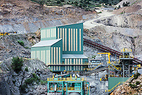 Mining facility, Colorado, USA