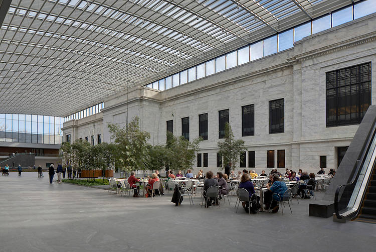 Cleveland Museum of Art Atrium | Rafael Viñoly Architects PC