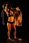 TANDEM<br /> Cités Danse Connexions #1<br /> <br /> Chorégraphie John Degois<br /> Avec Amélie Josseaume et Guillaume Chan Ton<br /> Assistant à la chorégraphie et mise en scène Sylvain Décure<br /> Costumes Mélinda MouslimCadre : Suresnes Cité Danse 2017<br /> Date : 20/01/2017<br /> Lieu : Théâtre de Suresnes Jean Vilar<br /> Ville : Suresnes<br /> © Laurent Paillier / photosdedanse.com