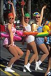 Participants in the Doo Dah Parade in Pasadena, CA