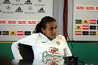 Marta (BRA)<br /> PK zum Laenderspiel Deutschland vs. Brasilien *** Local Caption *** Foto ist honorarpflichtig! zzgl. gesetzl. MwSt. Auf Anfrage in hoeherer Qualitaet/Aufloesung. Belegexemplar an: Marc Schueler, Am Ziegelfalltor 4, 64625 Bensheim, Tel. +49 (0) 151 11 65 49 88, www.gameday-mediaservices.de. Email: marc.schueler@gameday-mediaservices.de, Bankverbindung: Volksbank Bergstrasse, Kto.: 151297, BLZ: 50960101