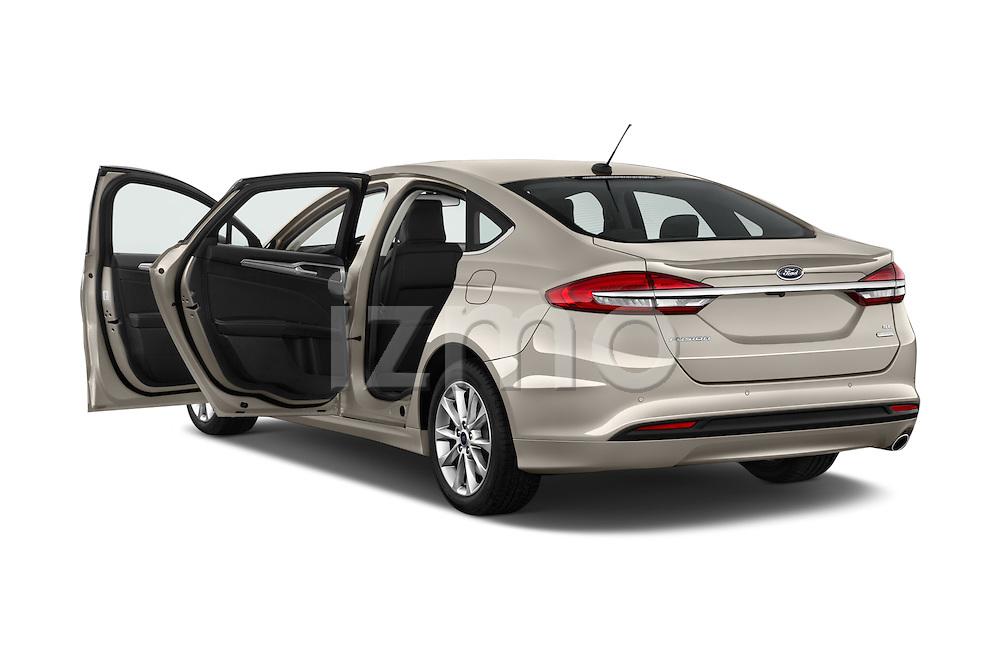 Car images of 2017 Ford Fusion SE-FWD 4 Door Sedan Doors