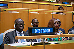 General Assembly Seventy-fourth session, 7th plenary meeting<br /> <br /> <br /> His Excellency Daniel Kablan Duncan, Vice-President, Republic of Côte d'Ivoire