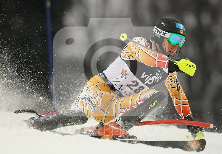 06.01.2011., Sljeme, Zagreb, Croatia - FIS Ski World Cup, Snow Queen Trophy, men slalom race, 1st run..Brad Spence.                                                                                                   Foto:   nph / PIXSELL