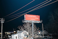Jeb Bush - Billboard - Manchester, NH - 7 Feb. 2016