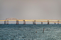 The Chesapeake Bay Bridge, Virginia, USA