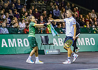 Rotterdam, The Netherlands, 9 Februari 2020, ABNAMRO World Tennis Tournament, Ahoy, Qualyfying match: Marton Fucsovics (HUN)<br /> Photo: www.tennisimages.com